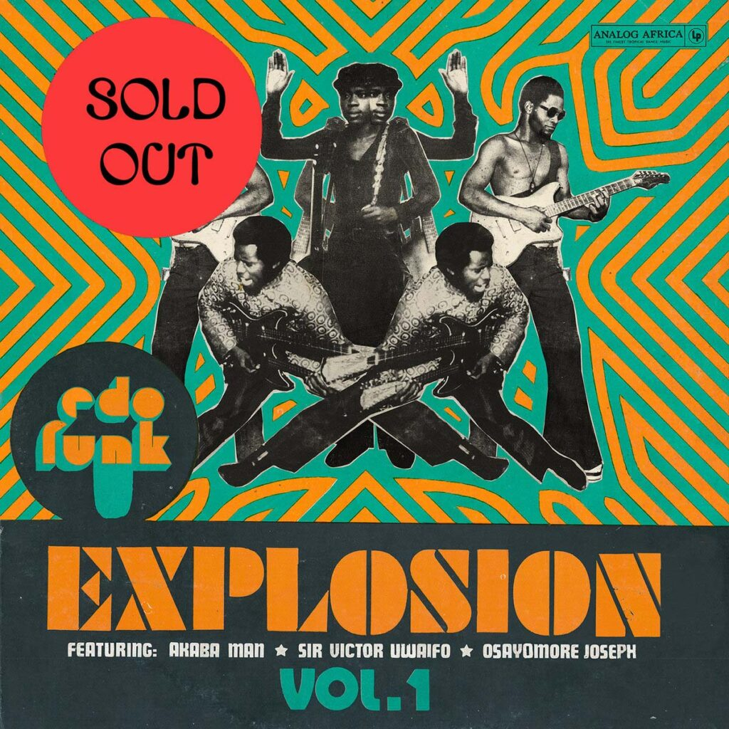 Various ‎– Edo Funk Explosion Vol. 1 2LP + Booklet product image