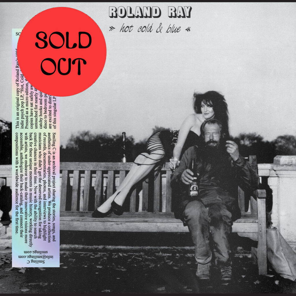 Roland Ray - Hot Cold & Blue LP product image