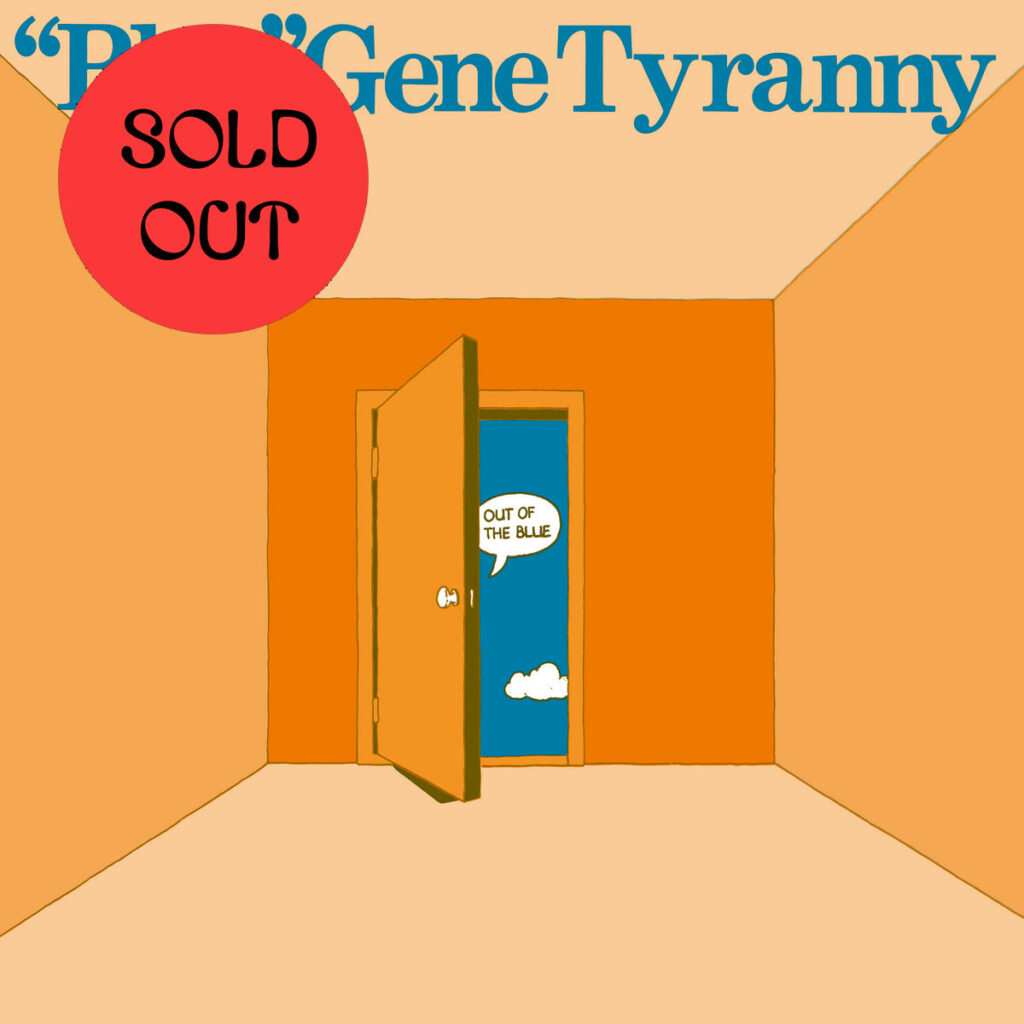 """""""Blue"""" Gene Tyranny - Out Of The Blue LP product image"""