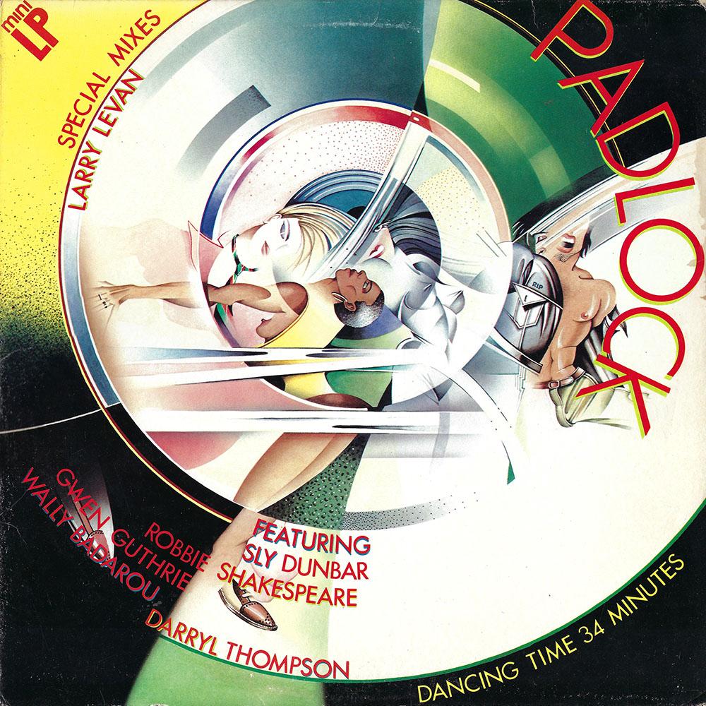 Larry Levan, Gwen Guthrie – Padlock (Special Mixes) album cover