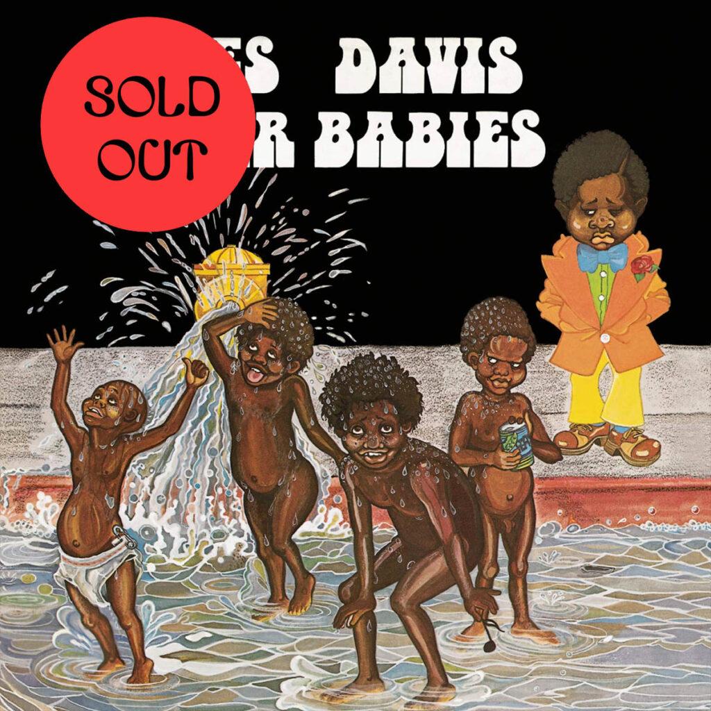 Miles Davis - Water Babies LP product image