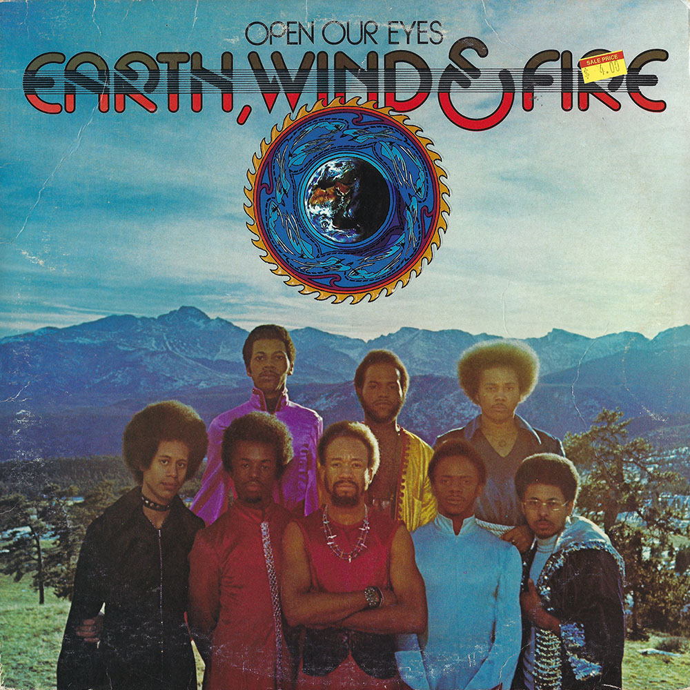 Earth, Wind, and Fire album cover