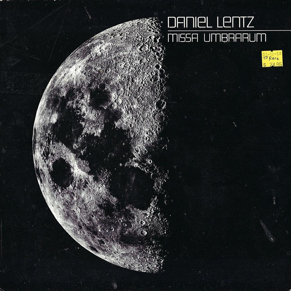 Daniel Lentz album cover