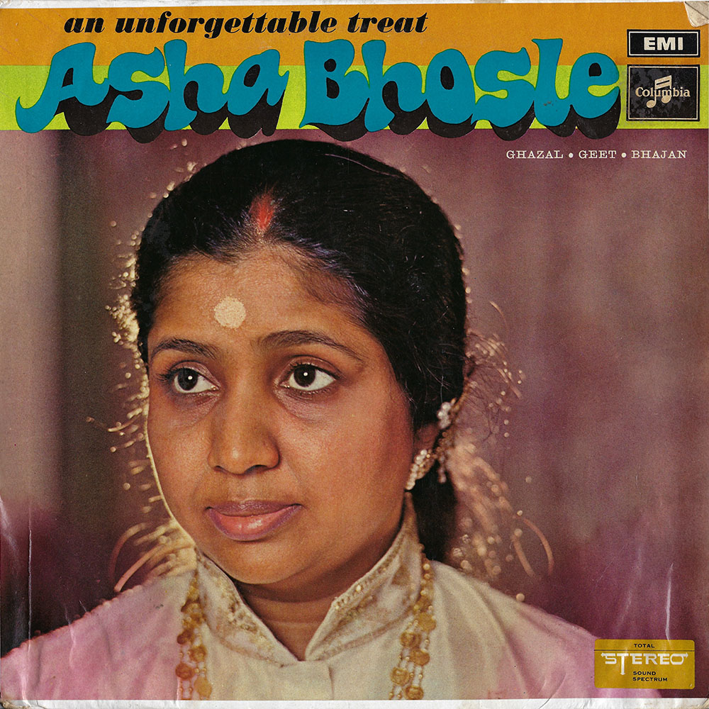 Asha Bhosle – An Unforgettable Treat album cover