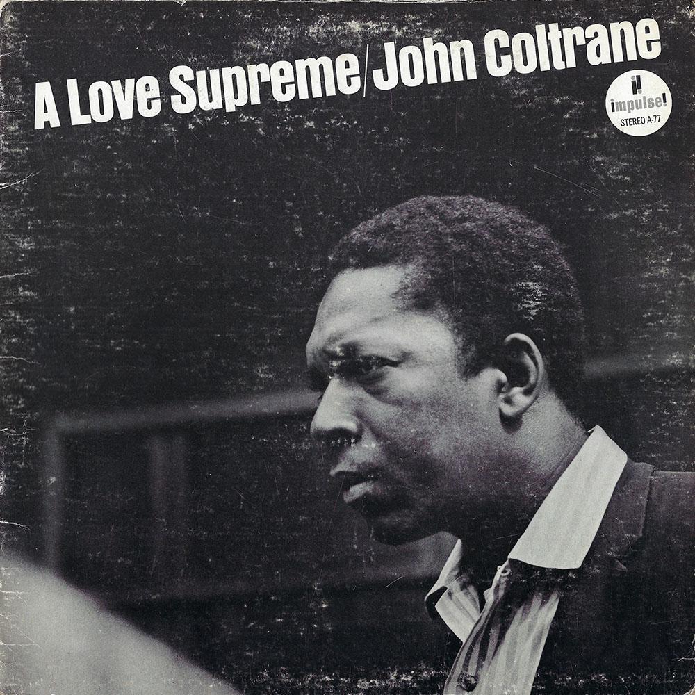 John Coltrane album cover