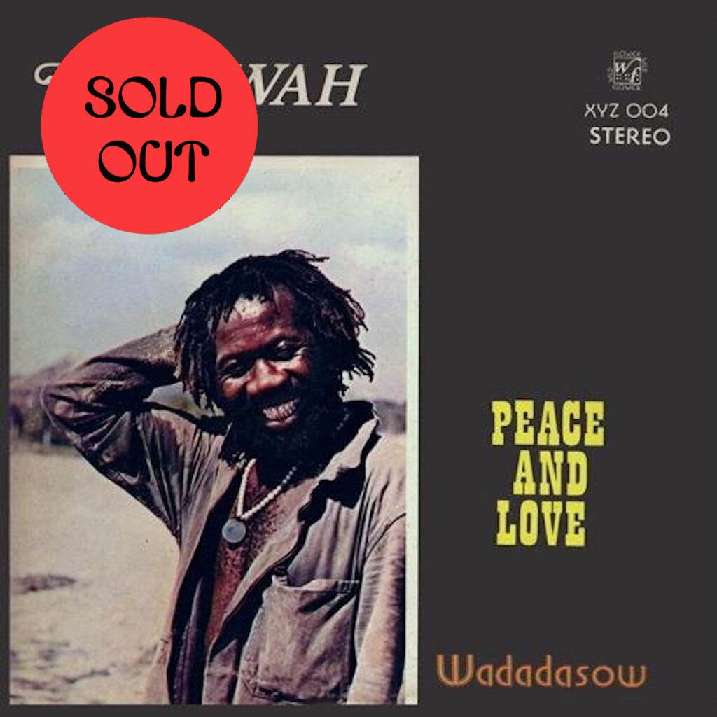 Dadawah – Peace And Love: Wadadasow LP product image