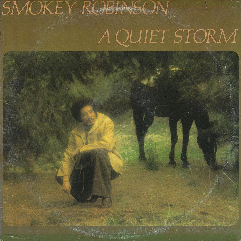 Smokey Robinson – A Quiet Storm album cover