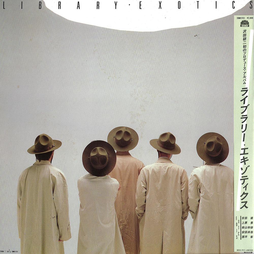 Exotics – Library album cover