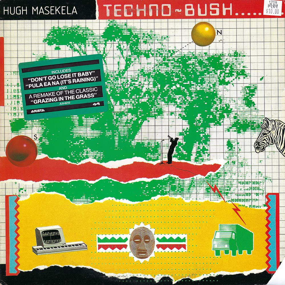 Hugh Masekala – Techno-Bush album cover