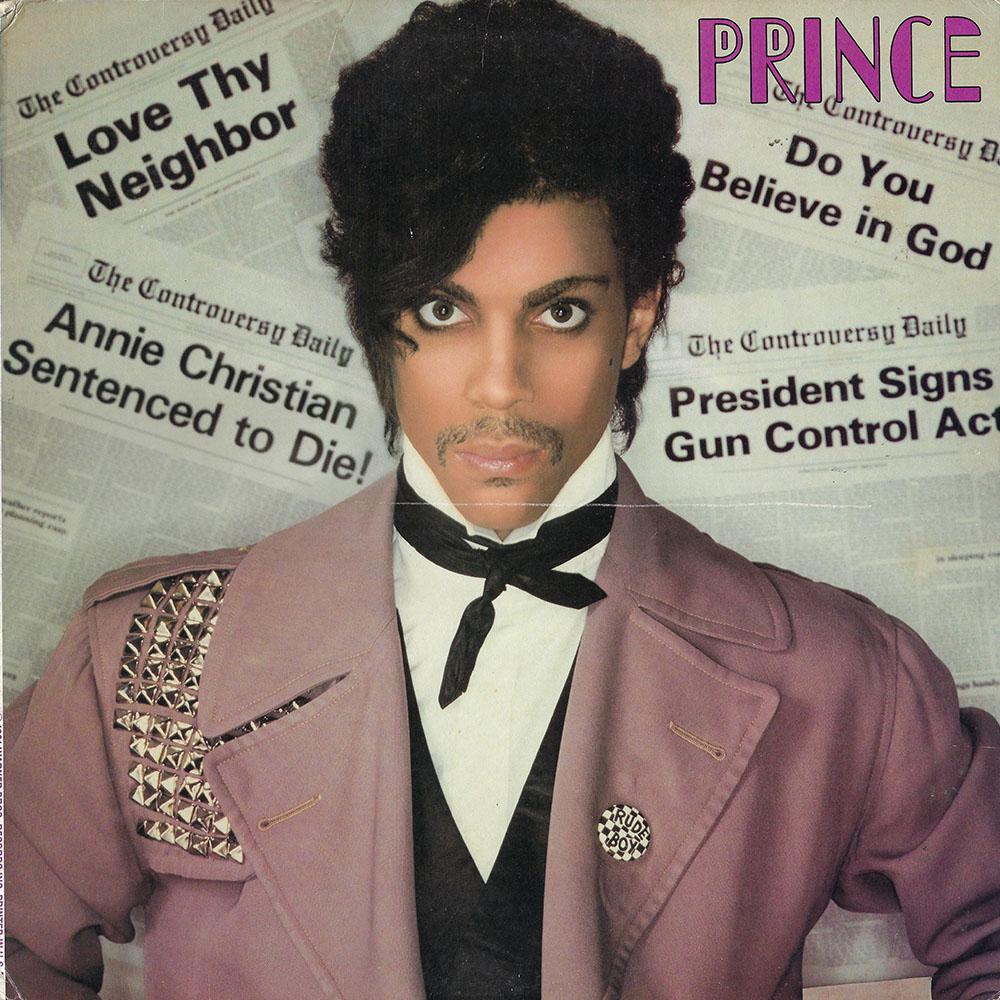 Prince – Controversy album cover