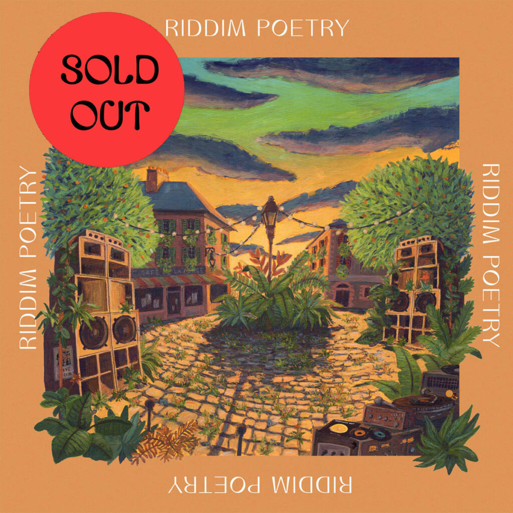 Various - Riddim Poetry LP product image