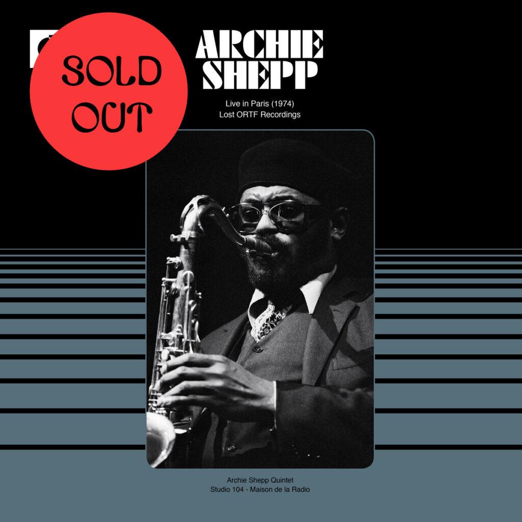 Archie Shepp: Live In Paris 1974 – Lost ORTF Recordings LP product image