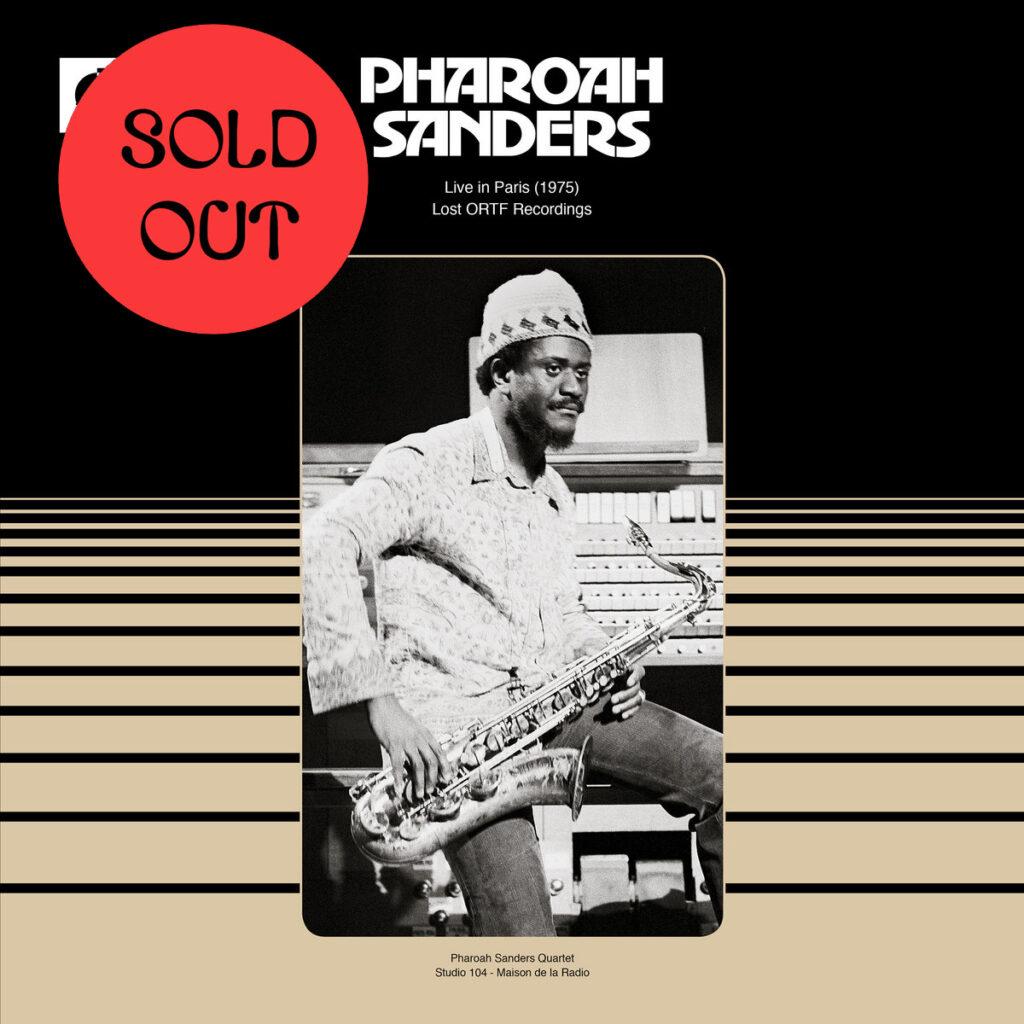 Pharoah Sanders: Live In Paris (1975) (Lost ORTF Recordings) LP product image