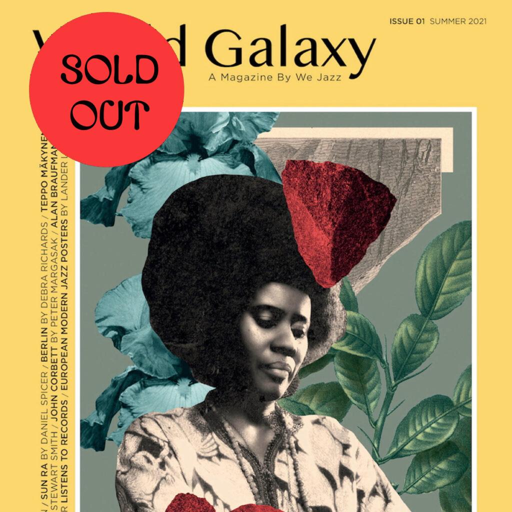 """We Jazz Magazine – Summer 2021 """"World Galaxy"""" BOOK product image"""