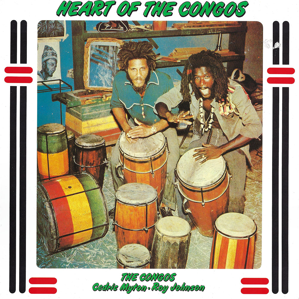 The Congos – Heart of the Congos album cover