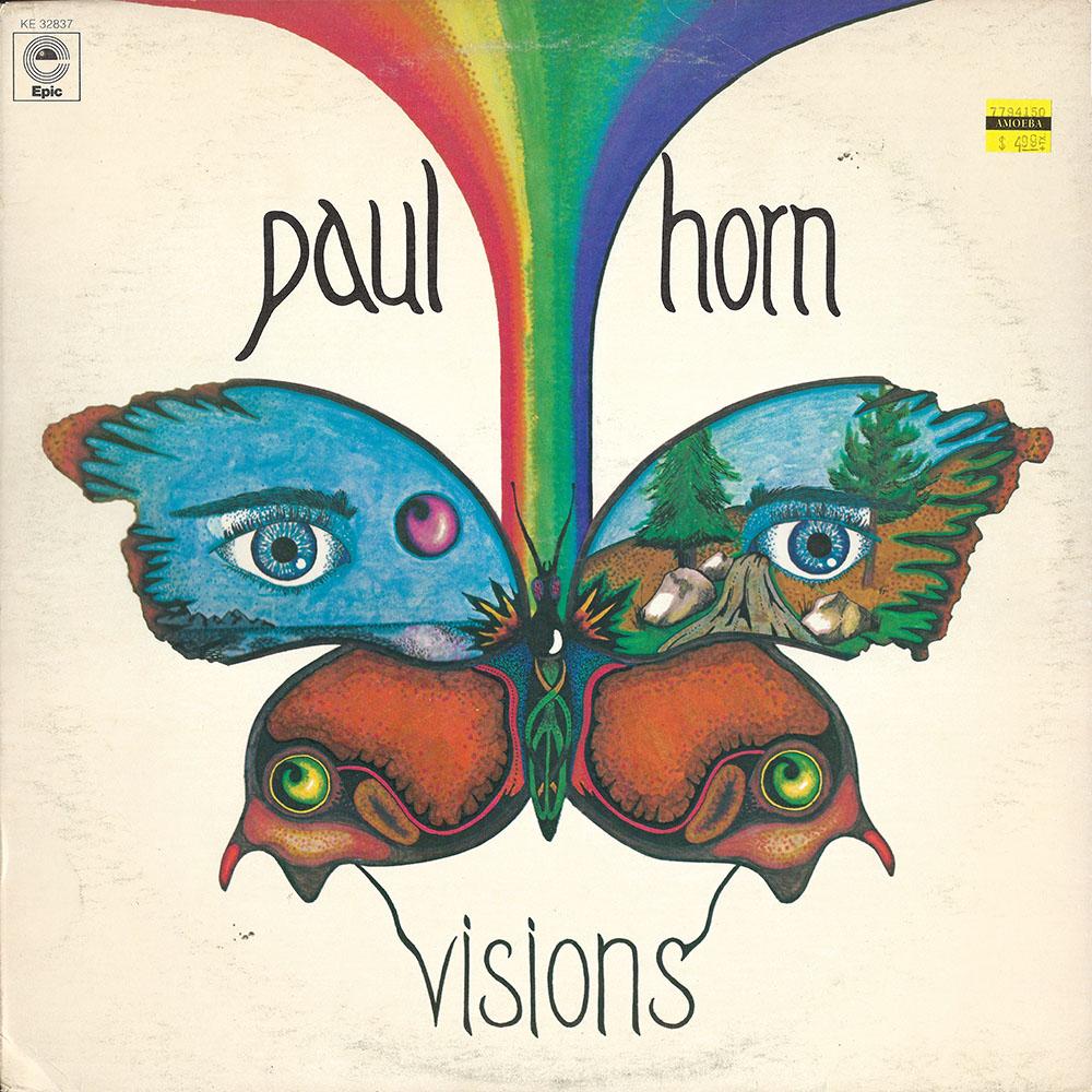 Paul Horn – Visions album cover