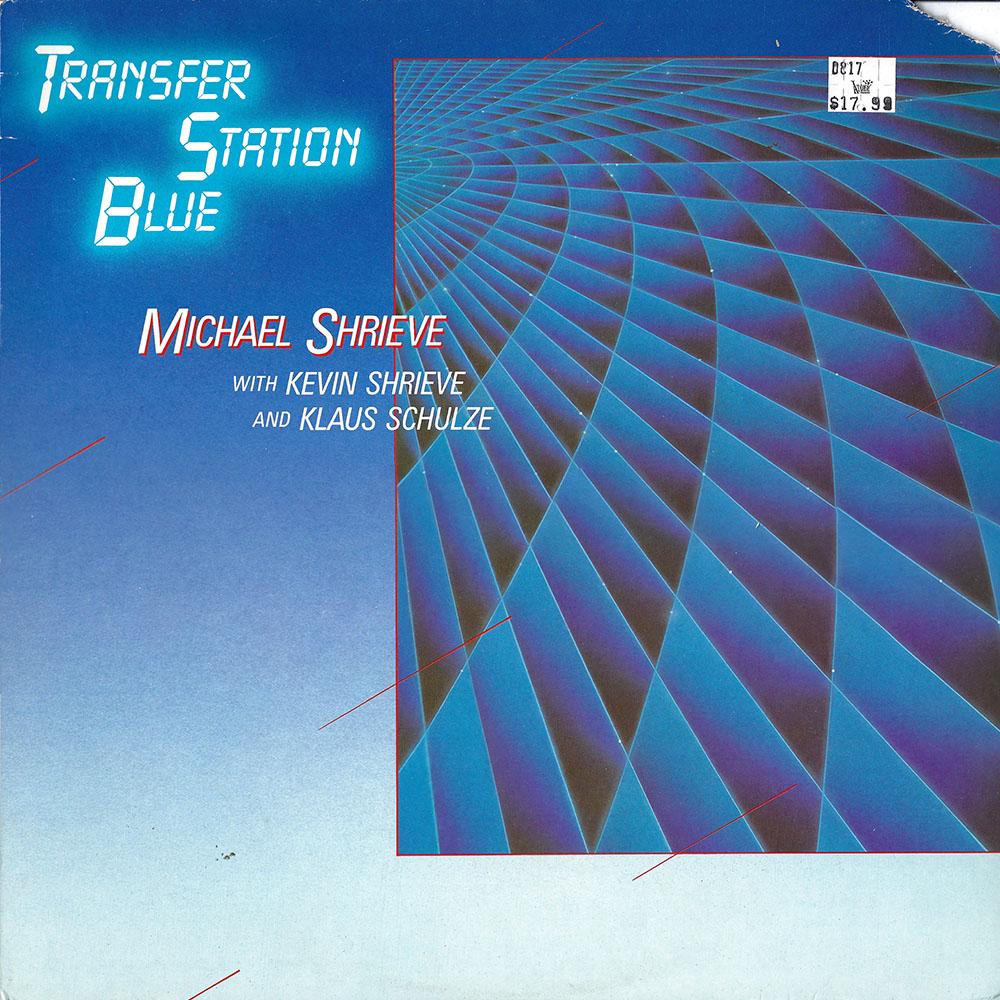 Michael Shrieve – Transfer Station Blue album cover